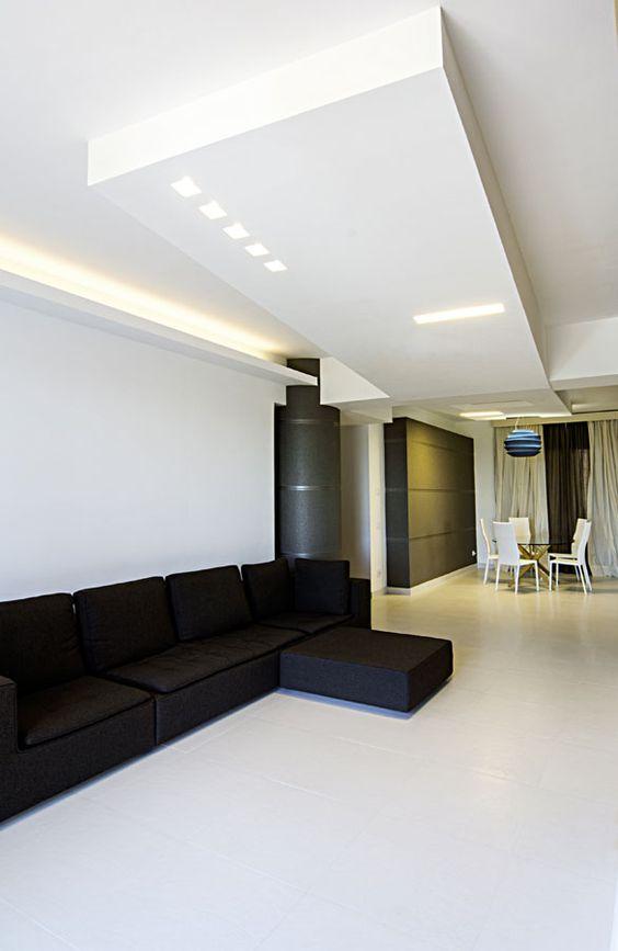 Faretti incassati nel controsoffitto #doriarchitetti #bianco #luce - led panel küche