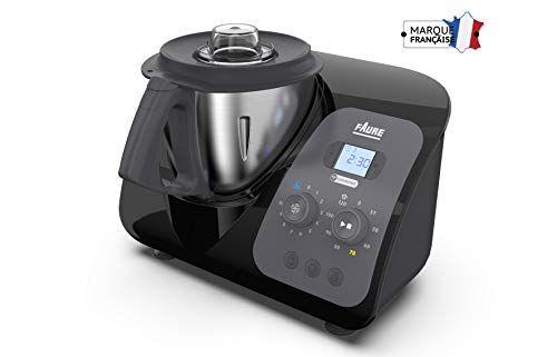 Faure Fkc 3l1d1 Magic Air Cooking Robot Cuiseur Connecte Multifonction 3 3 Liters Noir Cuiseur Robot Cuiseur Multifonction
