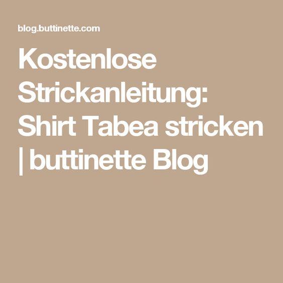 Kostenlose Strickanleitung: Shirt Tabea stricken | buttinette Blog