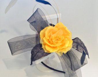Ivory Flower Girl Headband Flower Crown White by HandMadeBloom