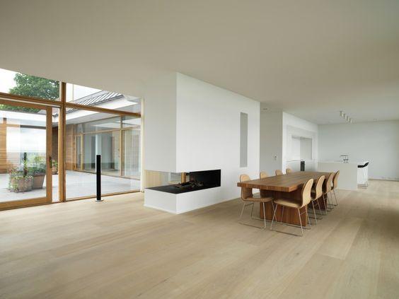 North Zealand Villa Dinesen Wohnen Holz Alu Fenster Eichenholzboden