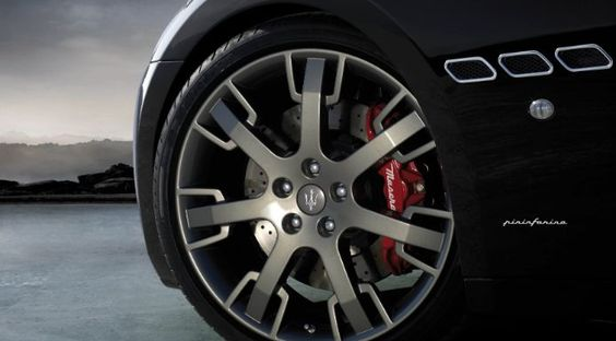 The amazing Maserati GranTurismo alloy wheel-rims