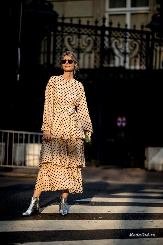 Уличная мода: Неделя моды в Париже весна-лето 2019: уличная мода
