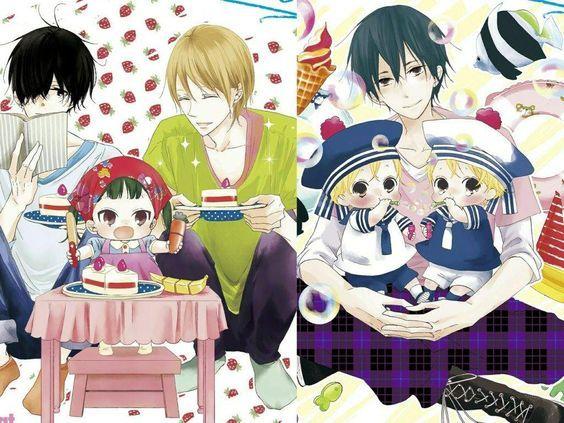 Nezu Chuukichi Kumatsuka Kirin Yagi Tomoya Mamizuka Kousuke Takuma Mamizuka Kazuma Mamizuka Gakuen Babysitters Seni Anime Gambar Anime Gambar