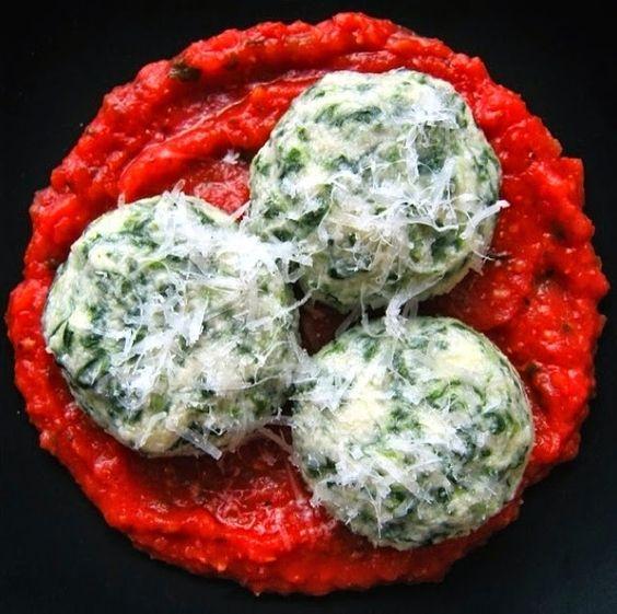Spinach Gnudi aka Naked Ravioli! | Best Food Blogger Photos and ...