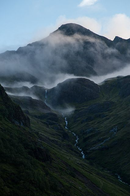 Glencoe, Scotland--Built like the little Scottish pony that I am, I want to climb this mountain with my little hooves!