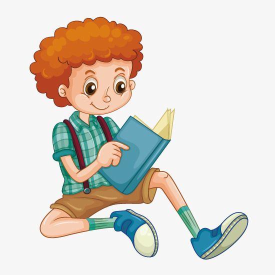 قراءة مواد الصبي الصغير قراءة القراءة الصبي المرسومة صبي الكرتون Png صورة للتحميل مجانا Kids Clipart Cartoon Boy Clipart Boy