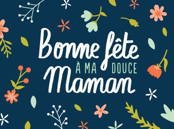 Pensez A Envoyer Une Belle Carte Pour La Fete Des Meres Carte Bonne Fete Maman Carte Bonne Fete Image Bonne Fete Maman