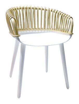 Cyborg Sessel geflochtene Rückenlehne – Magis