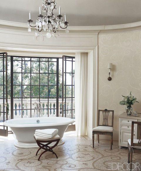 Beautiful Light Grey Tile Bathroom Floor Tiny Bathroom Rentals Cost Regular Custom Bath Vanities Chicago Mosaic Bathrooms Design Old Wash Basin Designs For Small Bathrooms In India PinkBathroom Vainities 70  Of The Most Beautiful Designer Bathrooms | Antiques, Irish And ..