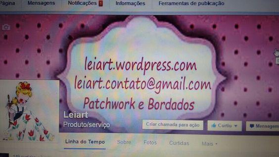 Encomendas, Facebook Leiart produtos e serviços