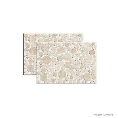 Revestimento Bubblé 45,5x65,5cm crema Ceusa - Telhanorte - Código Ref.:1246178 R$ 128,90 em 30/03/15.