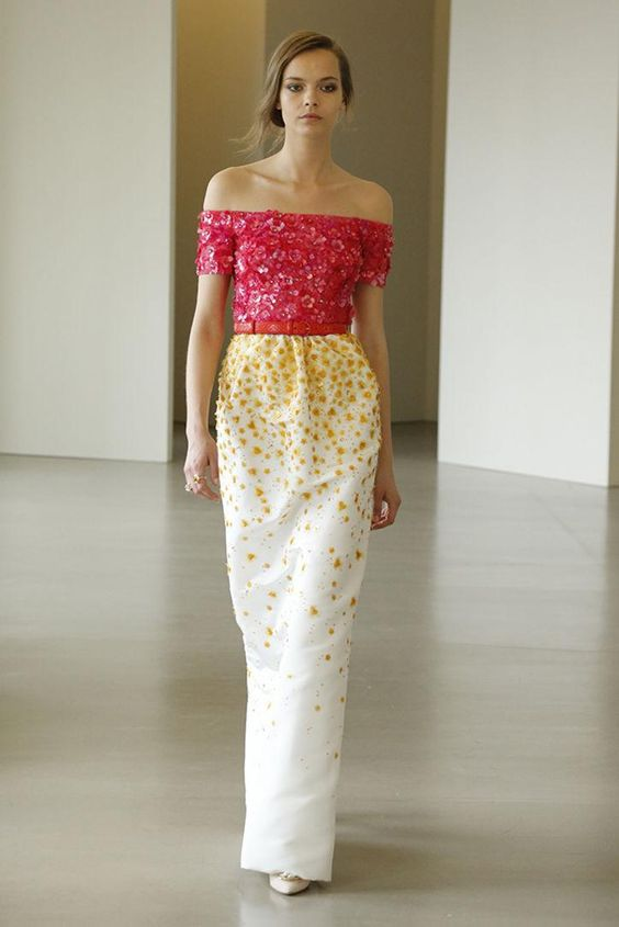Beautiful,  beautiful dresses and gowns from Oscar de la Renta resort 2016: