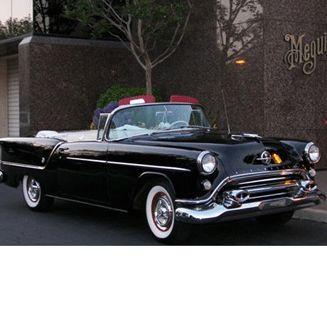 #1954Olds S-88 Convertible #VintageCar #CollectorsCar #ClassicCars #SpecialityCar #AntiqueCar Follow board