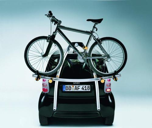 Smart Car + Bike Rack = My Dream Car | My car | Pinterest | Car bike rack  and Smart car