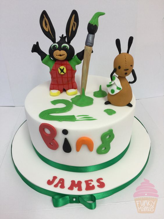 Bing Cake Cbeebies Birthday Cake Pinterest Bing