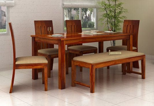 21+ Dining table set with bench and chairs Best Choice