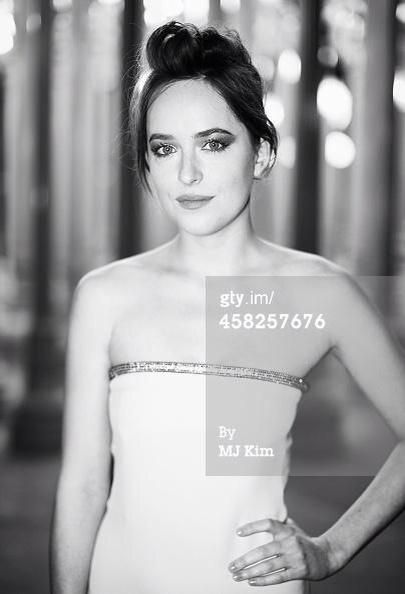 #DakotaJohnson  at LACMA Art Film Gala ....  <3 #FSOG