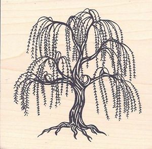 Trees, Weeping willow and Crests on PinterestWeeping Willow Black And White Tattoo