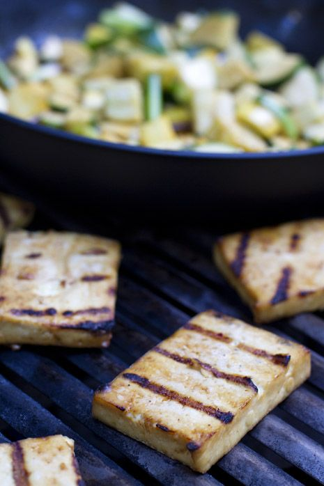 grilled marinated and more summer squash marinated tofu tofu grilled ...
