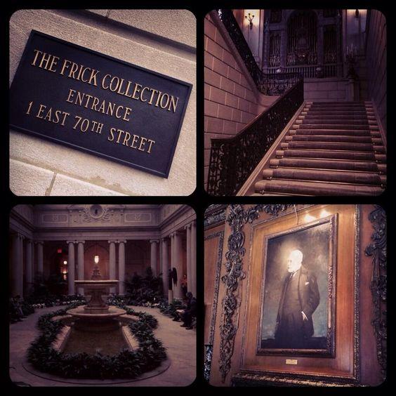 """Visitando """"The Frick Collection"""" Uno de mis museos privados favoritos del mundo #art #class #nyc #marialeonstyle"""