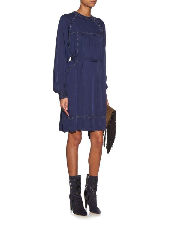 Adele silk dress | Isabel Marant | MATCHESFASHION.COM US