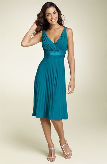 Suzi Chin for Maggy Boutique Pleated Jersey Dress | Nordstrom
