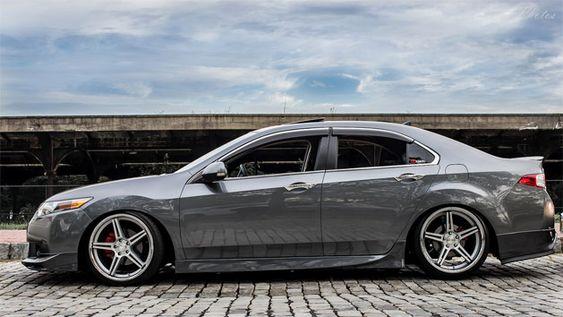 Slammed 2010 Acura TSX