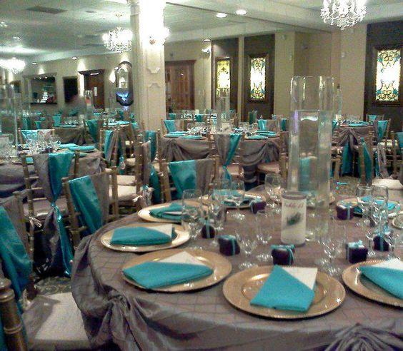 Wedding Reception Table Setup Ideas: Seduction Banquet Hall Table
