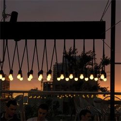 lighting google rooftops bar beirut outdoor lighting lights rooftop