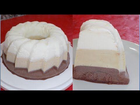 أيس كريم الطبقات روووعة بثلاث مكونات فقط يستحق التجربة Youtube Desserts Food Cheesecake