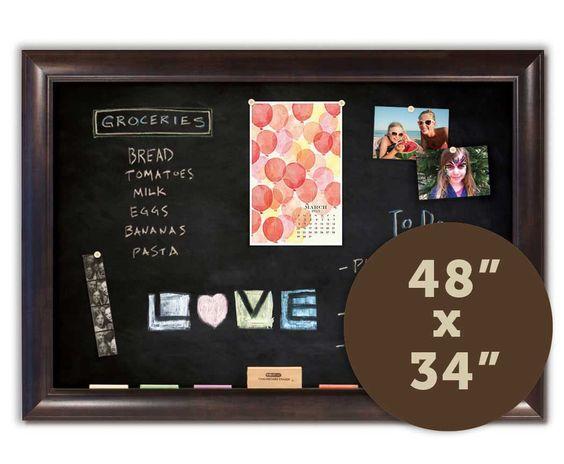 """Chalkboards 48"""" x 34"""""""