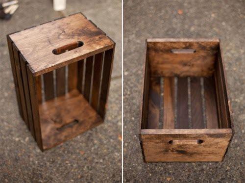 como pintar a caixa de madeira tipo rustica - Pesquisa Google