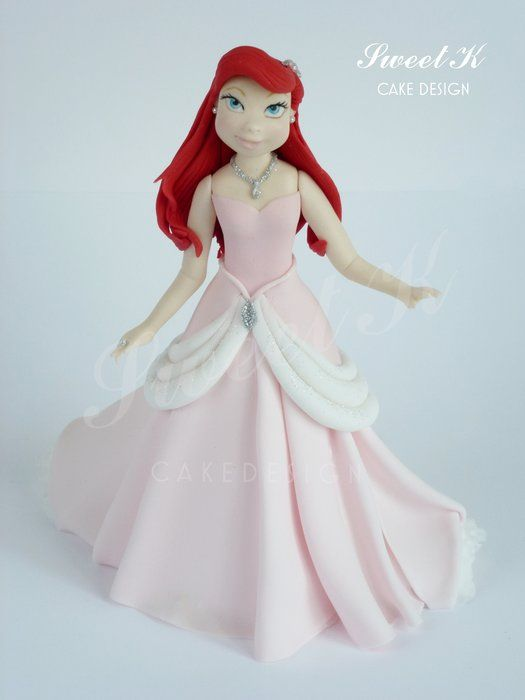 Princess Ariel by Sweet K (6/26/2013) View details here: http://cakesdecor.com/cakes/69832