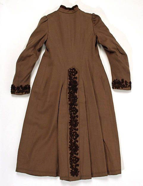 Coat Date: ca. 1887 Culture: French Medium: wool