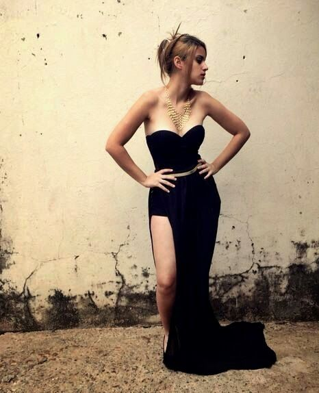 Look inspirado em Jean Paul Gaultier – Larissa Ruston | Blog de Moda, Beleza…