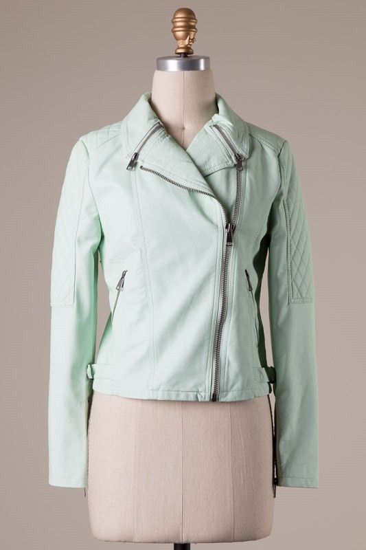Mint Downtown Cafe Jacket – Pree Brulee