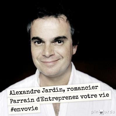 Alexandre Jardin, romancier. Parrain d'Entreprenez Votre Vie ! #EnVoVie