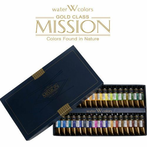 Mijello Mission Gold Class Mwc 1534 15ml Tube X 34colors