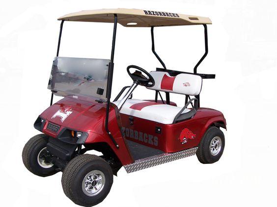 Golf cart all things razorback pinterest golf we for Narrow golf cart