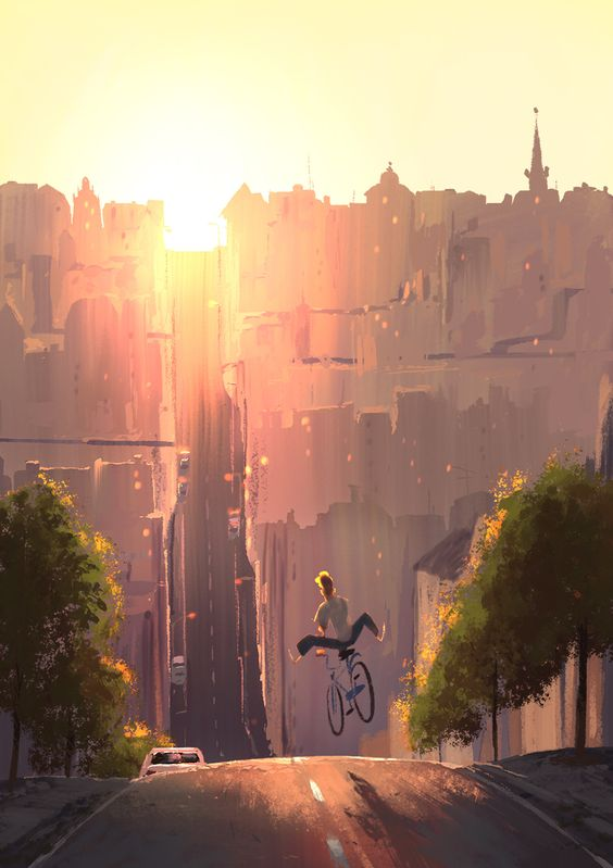 Beautiful illustrations by Johan Idesjö via The Art Of Animation