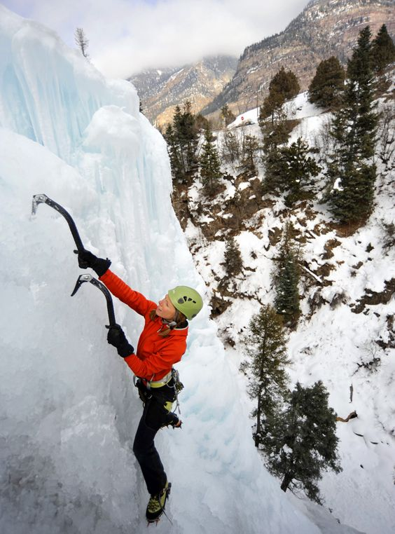 Ice Climbing in Ouray, Colorado  3 Daring Things to Do in 2016 |  Mountain…