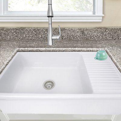 American Standard Country 30 L X 22 W Farmhouse Kitchen Sink