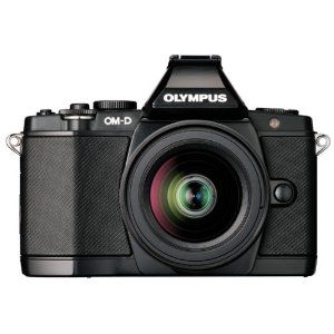 Olympus OM-D E-M5 16 MP Live MOS Interchangeable Lens Camera with 3.0-Inch Tilting OLED Touchscreen and 12-50mm Lens (Black) - $1,299