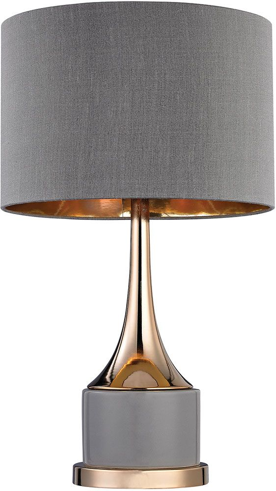 Dimond D2748 Modern Grey Gold Lighting Table Lamp Table Lamp Lighting Table Lamp Lamp