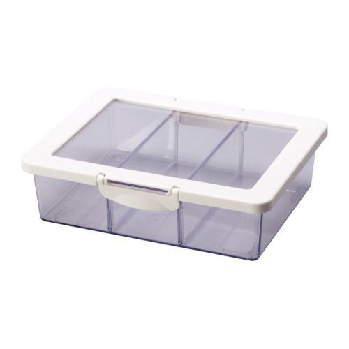 Ikea Aufbewahrung Lebensmittel ~ KRUS Vorratsbehälter Mit Deckel 24x19x7 Cm  4,99 U20ac