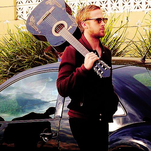 Guitar. Oh, and Ryan Gosling. ya know :P