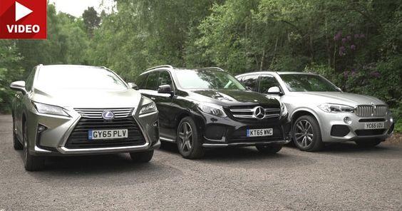 Premium SUV Showdown Sees BMW X5 Take On Mercedes GLE & Lexus RX #BMW #BMW_X5