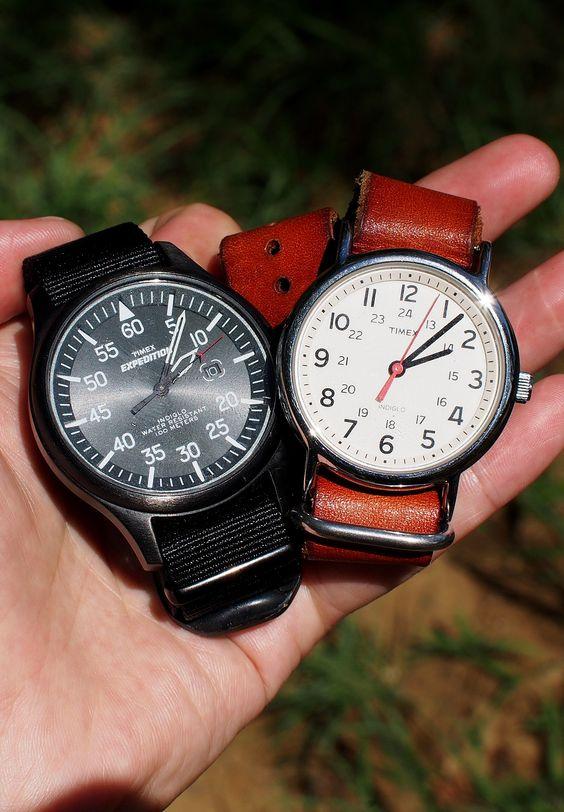 Timex Expedition Watch・Timex Weekender Watch