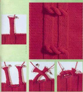 Tejido Facil: Ideita original para tejido a dos agujas (2)